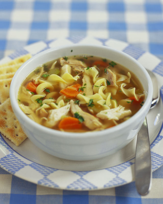 Debbie s homemade chicken noodle soup life just happens for Homemade chicken noodle soup recipe